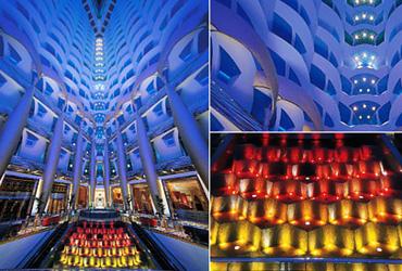 Burj al arab architecture news for Dubai decoration interieur